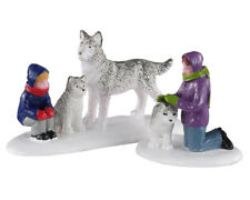 Lemax Village Collection Future Sled Dogs Set of 2 # 02941