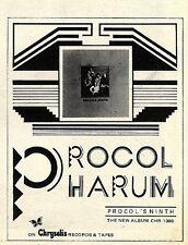 "SL26/12/75p44 ADVERT 5X4"" PROCOL HARUM : PROCOL'S NINTH"