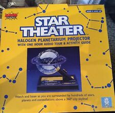 Star Theater Halogen Planetarium Projector Super Science Uncle Milton New!