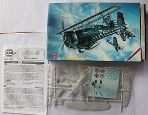 model aircraft kits 1/72 MPM Curtiss Hawk III