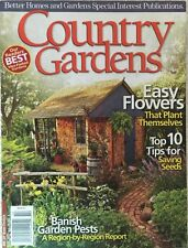 BH&G COUNTRY GARDENS MAGAZINE~FALL 2011~EASY FLOWERS THAT PLANT THEMSELVES~