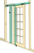"""COBURN H42 Hideaway pocket door kit, complete, doors up to 1067mm (42"""") wide"""