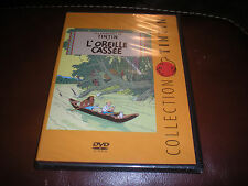 DVD COLLECTION TINTIN L'OREILLE CASSEE - NEUF SOUS BLISTER