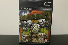 Borderlands 2  (Sony Playstation 3, 2012) *Tested