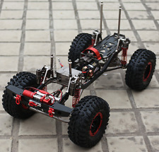 1:10 SCX10 RC Rock Crawler Axial D90 4WD Carbon Fiber Chassis+Body Shell Kit