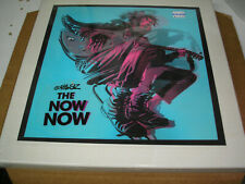 Gorillaz - The Now Now LP box set new sealed Parlophone blue vinyl art prints
