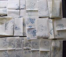 Vintage Crewel Iron-On Embroidery Transfers - American Crewel & Canvas Studio