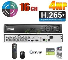 16CH Standalone DVR Support HD Analog/IP/HDTVI Camera, Mobile APP