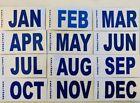 California License Plate dmv Month tag and sticker  <br/> Original California DMV Refletorized Sticker