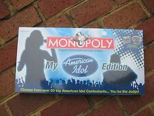 Monopoly My American Idol USAopoly 2007 New & Factory Sealed!