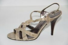 schuhe damen CALVIN KLEIN sandalen blau textil AH362