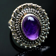 Amethyst 925 Sterling Silver Rings 7.25 Ana Co Jewelry R991352F