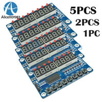 1-5PCS 8-Bit LED Digital Tube 8 Keys TM1638 Display Module For Arduino AVR ARM