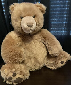 """GUND by Kohls Care for Kids Brown Grizzly Bear 14"""" Stuffed Animal With Tush Tag"""