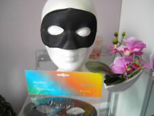 12 Stück Augenmaske Kavalier Maske Herren Zorro Bandit Fasching Karneval Kostüm