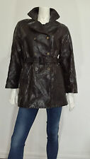 Giacca Santacroce Firenze vera pelle vintage w30 tg 44 jacket leather T465