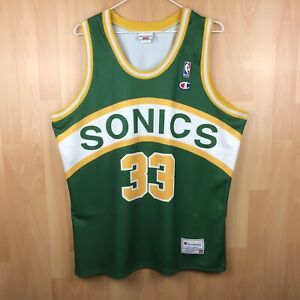 Scottie Pippen Seattle Supersonics Champion CUSTOM NBA Jersey XXL