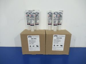 Lot of (54)  tubes of ASI #502 Silicone Sealant  - 2.8 Oz Squeeze Tube NEW