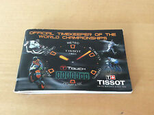 Booklet TISSOT - Official Timekeeper of the World Championships - For Collectors