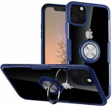 For iPhone 11 Pro 5.8in Case Hybrid Soft Grip Matte Finish Clear Back Panel Thin