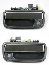 PAIR FRONT Outside Door Handle CHROME for 95-04 Toyota Tacoma Pickup Truck