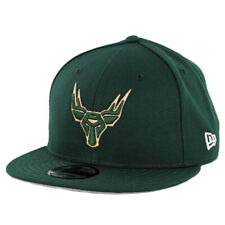 "New Era 9Fifty Milwaukee Bucks ""Gaming"" Snapback Hat (Dark Green) NBA Cap"