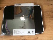 Black Neoprene Sleeve Plus for Macbook Pro 15 Inch