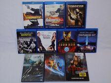 DVD + BLURAY Lot Transporter 2 Ironman Bloodrayne Last Final Fantasy Swordfish