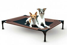 "K&H Pet Products Pet Cot Large Chocolate Dog Bed 30"" x 42"" x 7"" – KH1625"