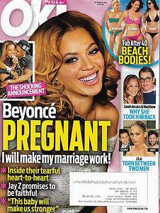 OK! Magazine September 8 2014 Beyonce Nick Jonas Beach Bodies Fab After 40