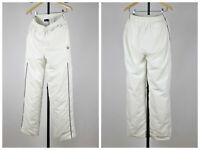 Mens Vintage Fred Perry Trousers Track Pants White Size L