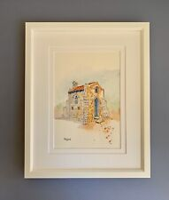 "Original Framed Watercolour ""The Hermitage"" Morawa, Western Australia"