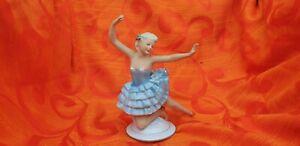 alte Porzellanfigur Rococo Tänzerin Wallendorf Porzellan