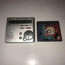 Sony Portable Minidisc Recorder Mz-R70 w/Rolling Stone - Parts/Repair Broken