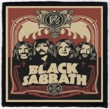 Black Sabbath Band Portrait Printed Patch B034P Electric Wizard Sleep