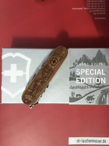 Victorinox Climber Wood Swiss Spirit Special Edition 2021 1.3701.63L21 Limited