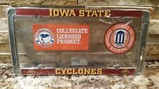 Iowa State Cyclones Metal License Plate Frame - Officially Licenses - Car Truck