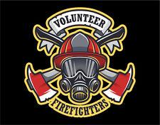 Firefighter Decals Vinyl Stickers Air Mask