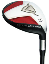Brand New! Left Handed Callaway Diablo Octane Tour 15* Fairway 3 Wood Stiff LH