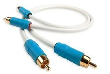 Chord C-line stereo 2RCA - 2RCA Analogue Audio Interconnect 1m  - NEW