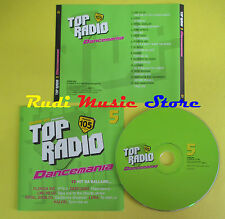CD RADIO 105 TOP RADIO 5 DANCEMANIA compilation LUKA DJ ROSS (C11) no lp mc dvd