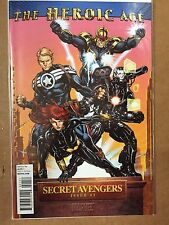 Secret Avengers #1 (Vol.1) 1St Print Heroic Age Variant Black Widow War Machine