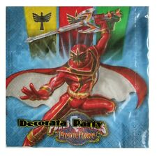 Power Rangers Mystic Force Party Napkins 16 Pack 9326