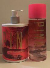 Victoria's Secret Pink Passionfruit Body Mist 8.4 OZ & Lotion 16.9 OZ