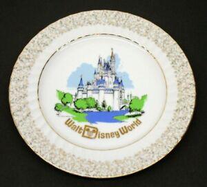 Vintage Walt Disney World Magic Kingdom Castle Collectible Plate made in Japan