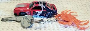 Kidco Inc Lock-Ups Toy Car RARE 1982 Red #10 Mustang GT Vintage Diecast w/key