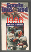 Sports Illustrated - 1996 The Year In Sports - OOP VHS - Olympics NFL NBA MLB