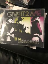 Madonna Give It To Me 1 Track Promo CD