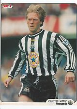 Warren Barton Newcastle Utd David Watson Barnsley Orig Firmado Revista De Corte