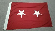 Flag major general authentic military flag. 3x5 in great condition